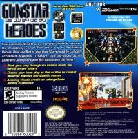 Gunstar Super Heroes Box Art