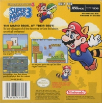 Super Mario Advance 4: Super Mario Bros. 3 Box Art