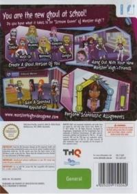 Monster High: Ghoul Spirit Box Art