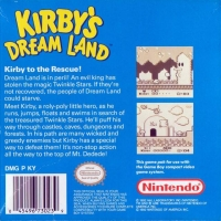 Kirby's Dream Land Box Art