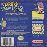 Kirby's Dream Land 2 Box Art