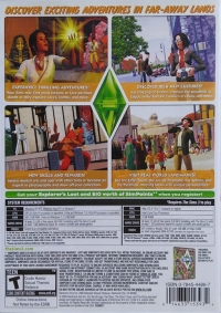 Sims 3, The: World Adventures Box Art