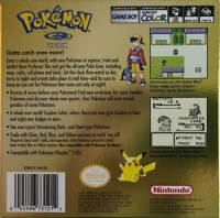 Pokémon: Gold Version Box Art