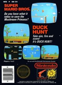 Super Mario Bros. / Duck Hunt (With Nintendo Seal of ...