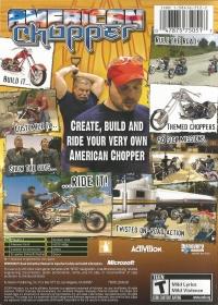 American Chopper Box Art