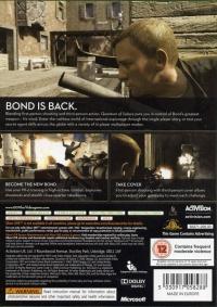 007: Quantum of Solace [UK] Box Art