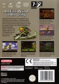 Legend of Zelda, The: The Wind Waker Box Art
