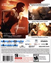 Tomb Raider - Definitive Edition Box Art