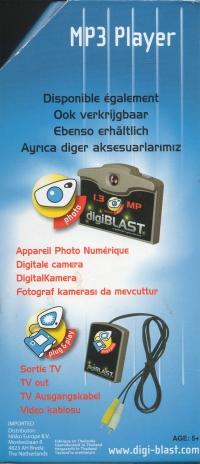 Digiblast: MP3 Player Box Art