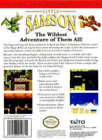 Little Samson Box Art