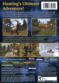 Cabela's Big Game Hunter: 2005 Adventures Box Art