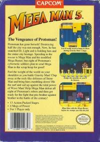 Mega Man 5 Box Art