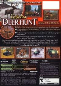 Cabela's Deer Hunt: 2004 Season Box Art