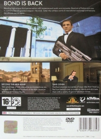 007: Quantum of Solace Box Art