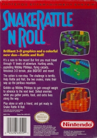 Snake Rattle 'n Roll Box Art