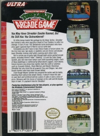 Teenage Mutant Ninja Turtles II: The Arcade Game Box Art