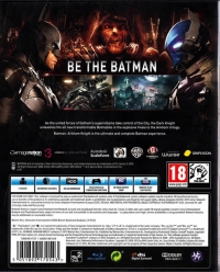 Batman: Arkham Knight Box Art