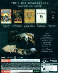 Elder Scrolls Anthology, The Box Art