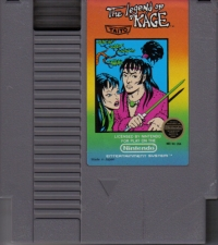 Legend of Kage, The (3 screw cartridge) Box Art