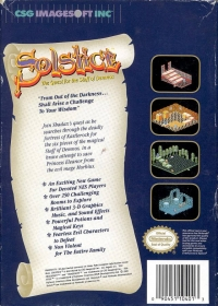 Solstice: The Quest for the Staff of Demnos Box Art