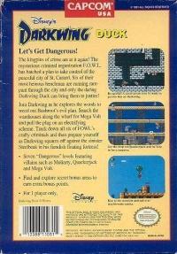 Disney's Darkwing Duck Box Art