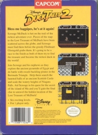 Disney's DuckTales 2 Box Art