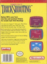 Barker Bill's Trick Shooting Box Art