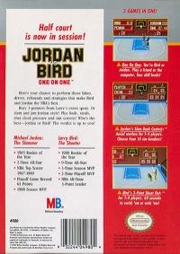 Jordan vs. Bird: One-on-One Box Art