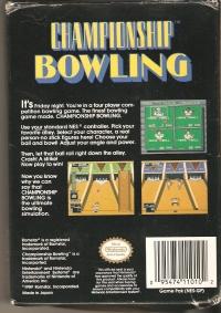 Championship Bowling Box Art