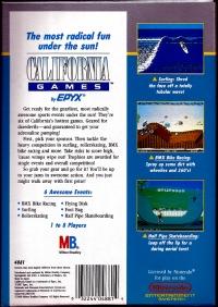 California Games Box Art