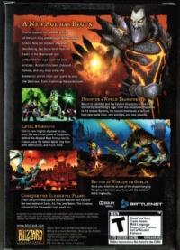 World of Warcraft: Cataclysm Box Art