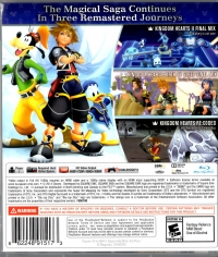 Kingdom Hearts HD 2.5 ReMIX Box Art