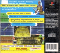 Anna Kournikova's Smash Court Tennis Box Art