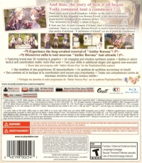 Atelier Rorona Plus: The Alchemist of Arland Box Art