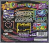 Bubble Bobble featuring Rainbow Islands Box Art
