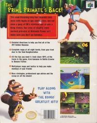 Donkey Kong 64 - Official Nintendo Player's Guide Box Art