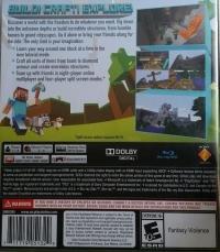 Minecraft: Playstation 3 Edition Box Art