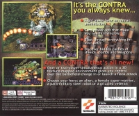 Contra: Legacy of War Box Art