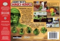 Army Men: Sarge's Heroes 2 (gray cartridge) Box Art