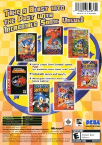 Sonic Mega Collection Plus Box Art