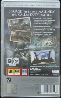 Call of Duty: Roads to Victory - Platinum Box Art