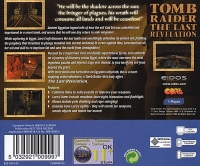 Tomb Raider: The Last Revelation Box Art