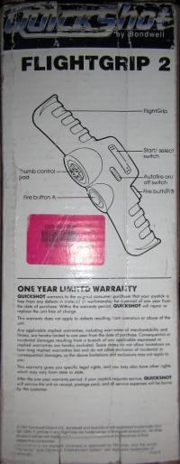 Bondwell QuickShot Flight Grip 2 Box Art