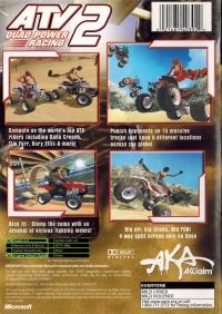 ATV: Quad Power Racing 2 Box Art
