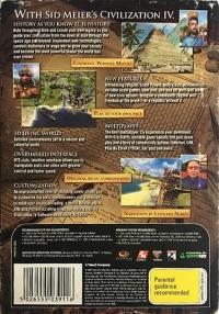 Sid Meier's Civilization IV Box Art