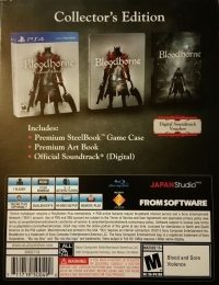 Bloodborne - Collector's Edition Box Art