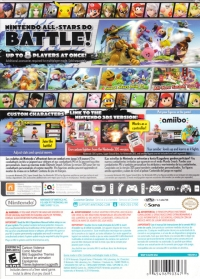 Super Smash Bros. for Wii U (Includes Game • Controller • Adaptor) Box Art