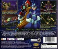 Mega Man X6 Box Art