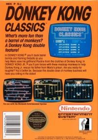 Donkey Kong Classics (oval seal) Box Art