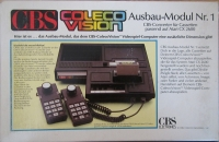 CBS Colecovision Ausbau-Modul Nr.1 Box Art